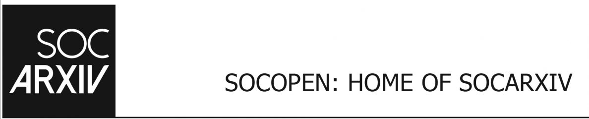 Papers – SocOpen: Home of SocArXiv